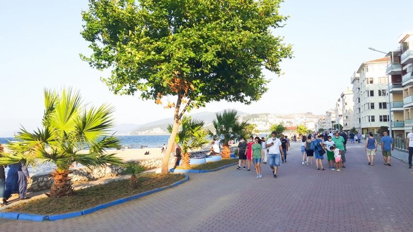 Büyükşehir'den Mudanya sahillerine estetik dokunuş