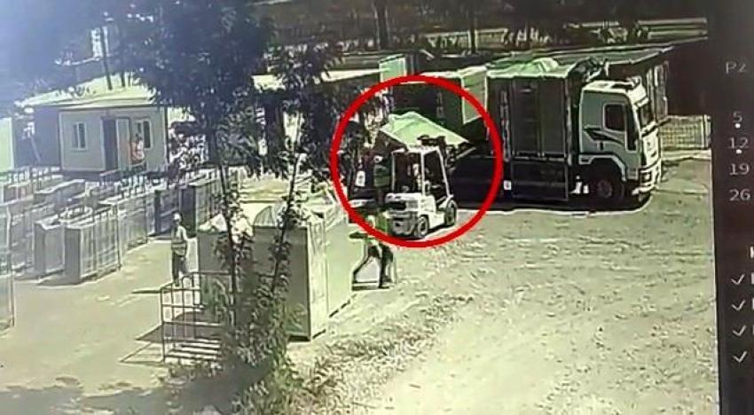 Bursa'da bir işçinin feci sonu!