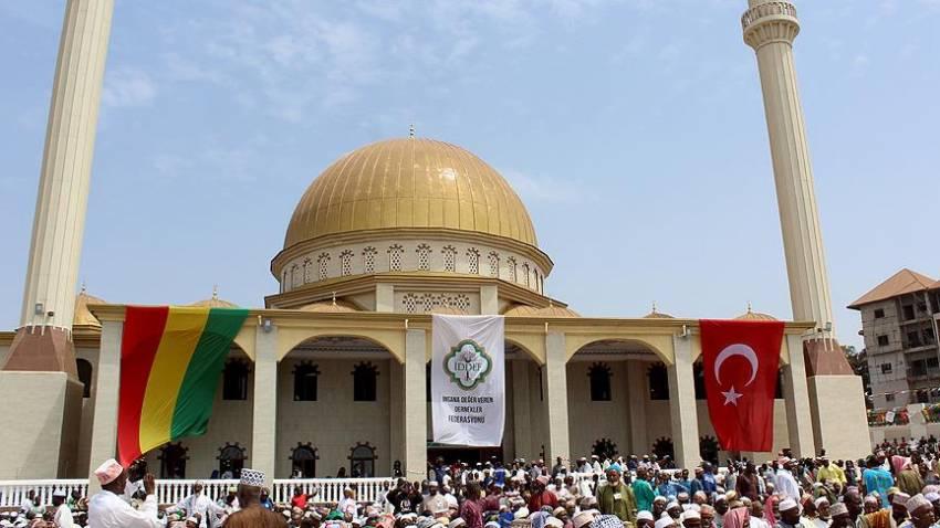 Sultan II. Abdülhamid Han Camisi açıldı
