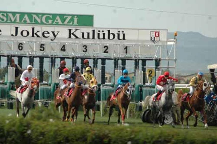 Bursa'da atlar yarışa hazır!