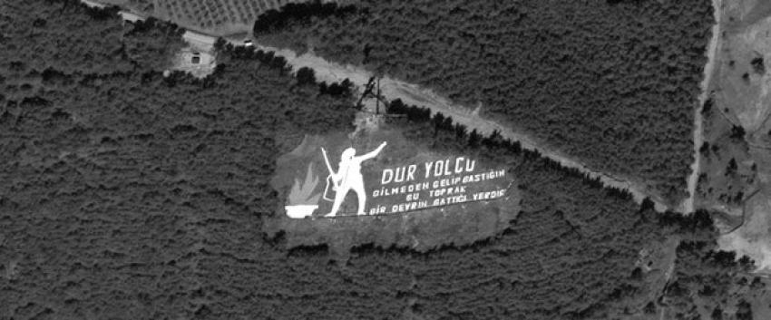 Uzaydan Çanakkale