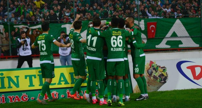 Bursaspor zirve aşkına! 1-3