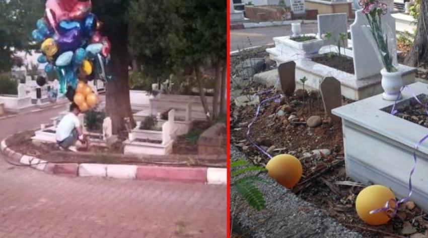 Sosyal medyada yankı uyandıran balon satıcısının sırrı çözüldü