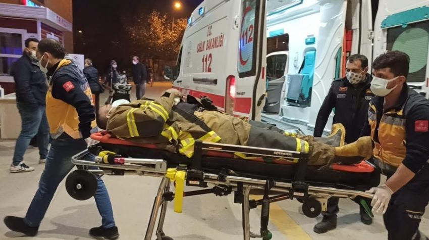 Bursa'da korkunç olay: İtfaiye eri...