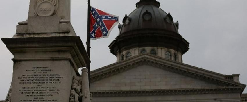 Güney Carolina'daki Konfederasyon bayrağı yasaklandı
