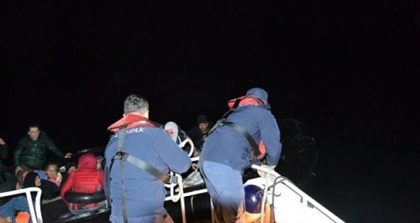 Sahil Güvenlik uçağında kaçamadılar