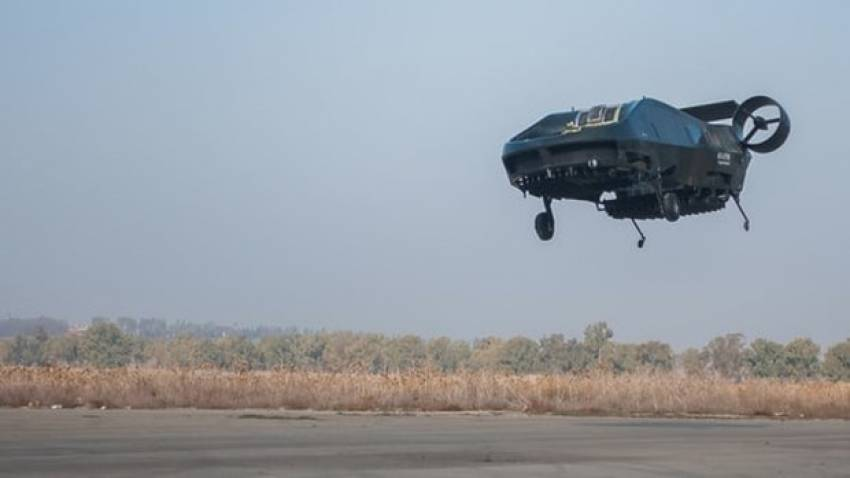 Uçan otomobil hayali gerçek oldu