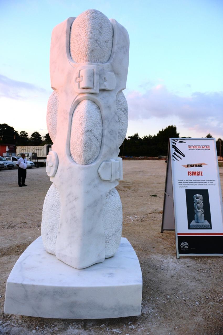 Nilüfer'de heykeller vicdana dokundu