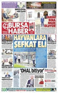 BURSA HABER GAZETESİ