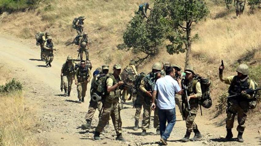 HDP'li vekille asker arasında gerginlik
