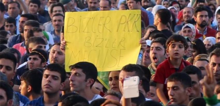HDP kutlamasında dikkat çeken döviz