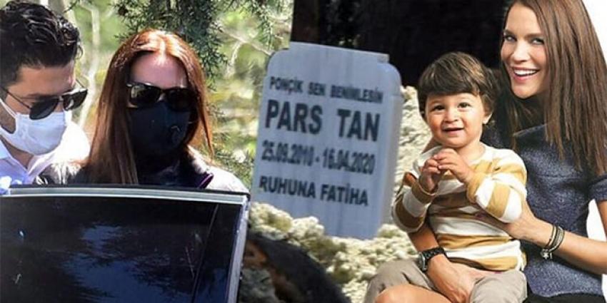 Ebru Şallı oğlunun mezarını taşıyacak!