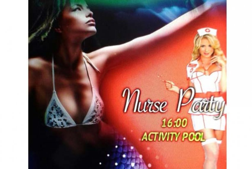 'Nurse Party' iptal edildi