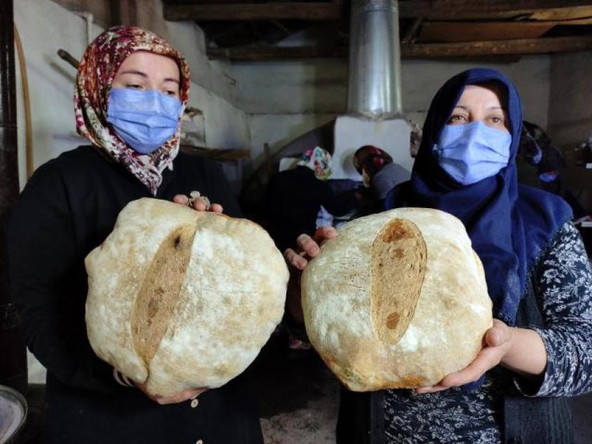 Bursa'nın kadınlarından örnek davranış