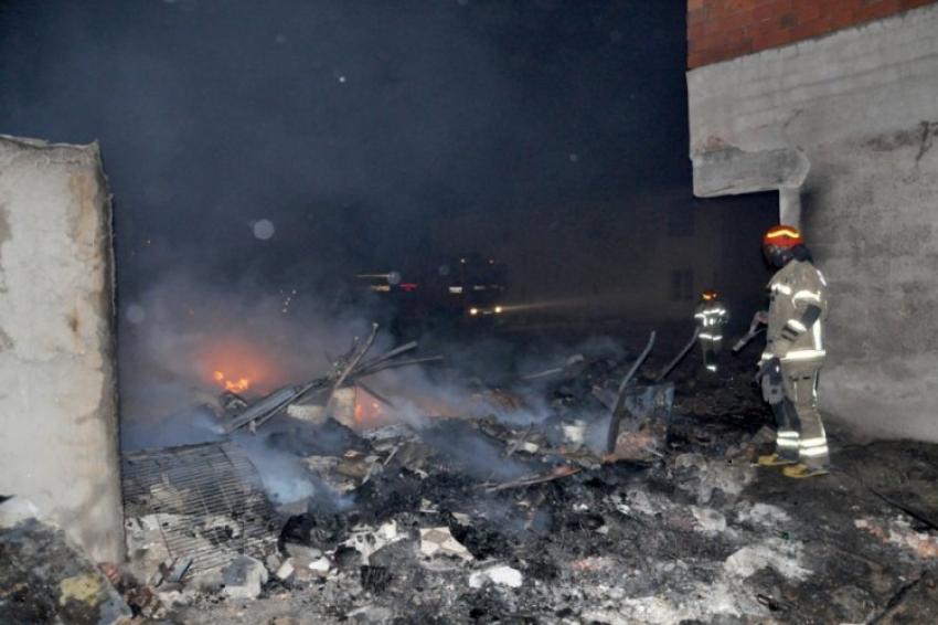 Bursa'daki yangının korkunç bilançosu