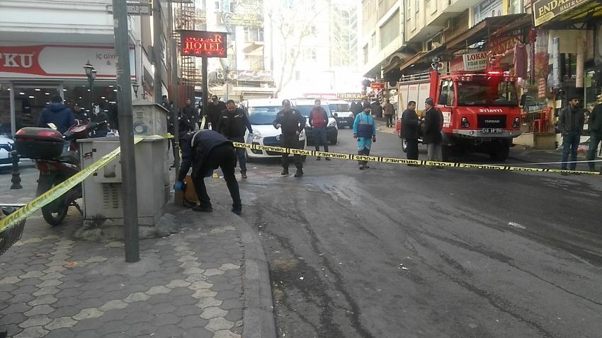 Kezzap bidonu patladı: 2 yaralı