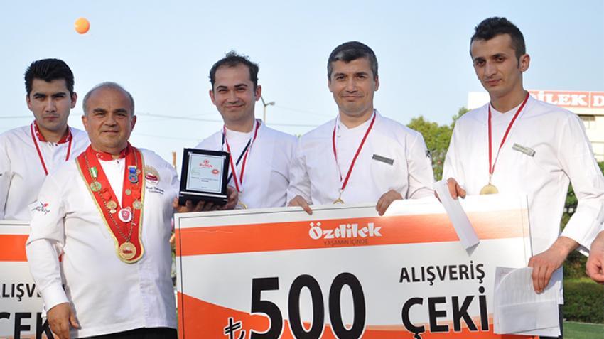 Aşçılar yarıştı