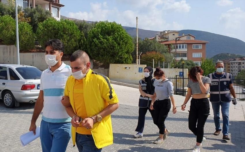 Bursa'da aşk tuzaklı soygun