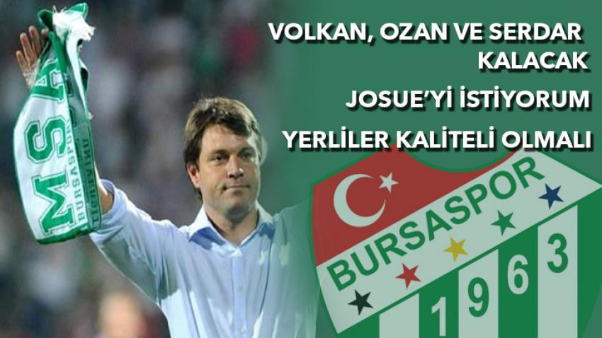 """Sağlam """"Volkan, Ozan, Serdar kalmalı"""""""