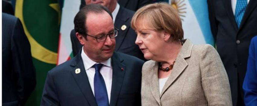 Hollande ve Merkel'den Yunanistan'a çağrı