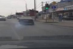 Hurdaya dönmüş araçla seyir kazayla bitti