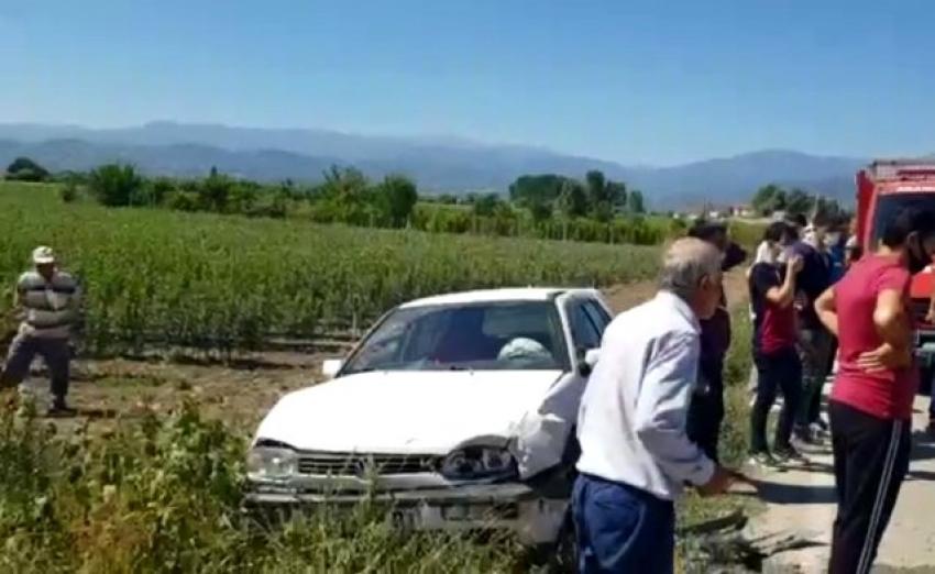 Bursa'daki kazalarda 9 kişi yaralandı
