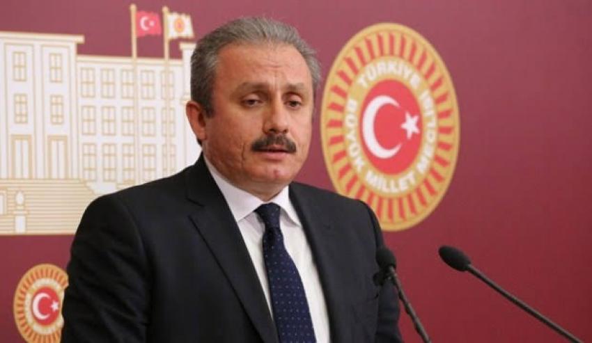 Mustafa Şentop açıklama yaptı