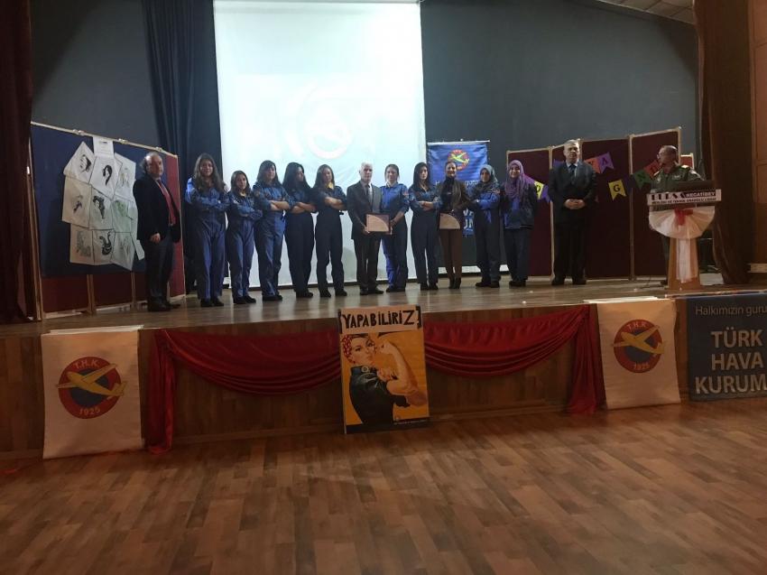 THK'dan Dünya Havacı Kadınlar Haftası etkinlikleri
