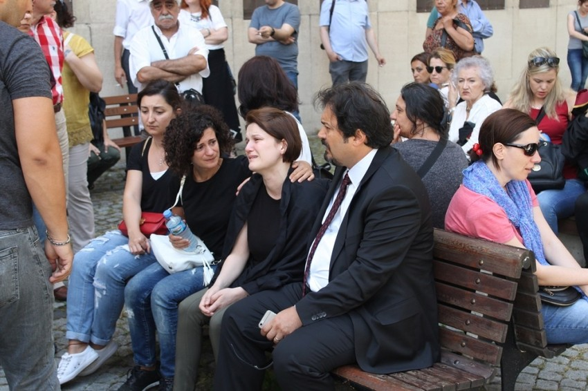 Avukat Özgür Aksoy son yolcuğuna uğurlandı