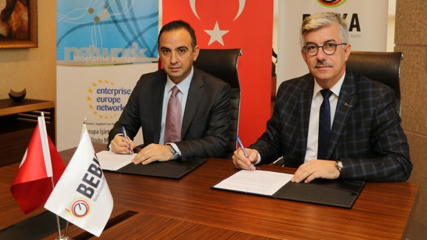 Avrupa İşletmeler Ağı Projesinde BEBKA ve KOSGEB Bursa işbirliği