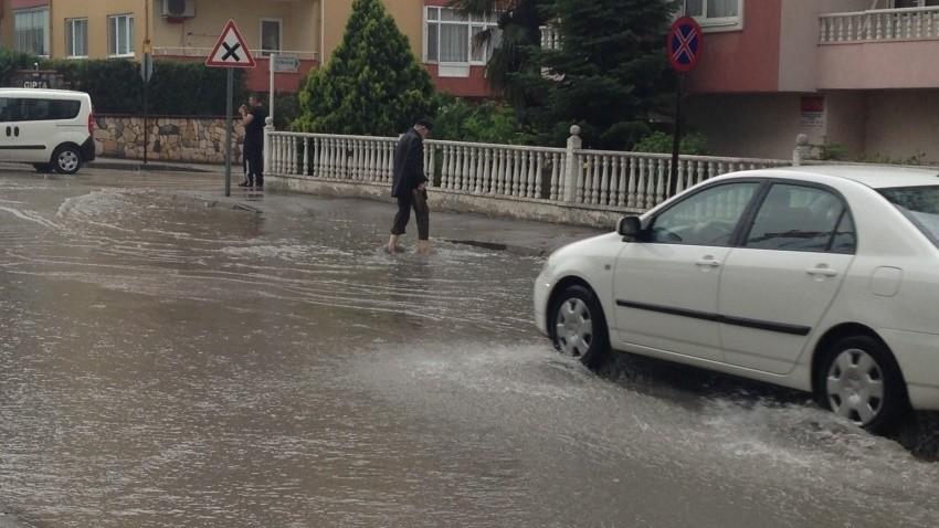 """""""Bursa'da yağmur afete dönüşebilir"""""""