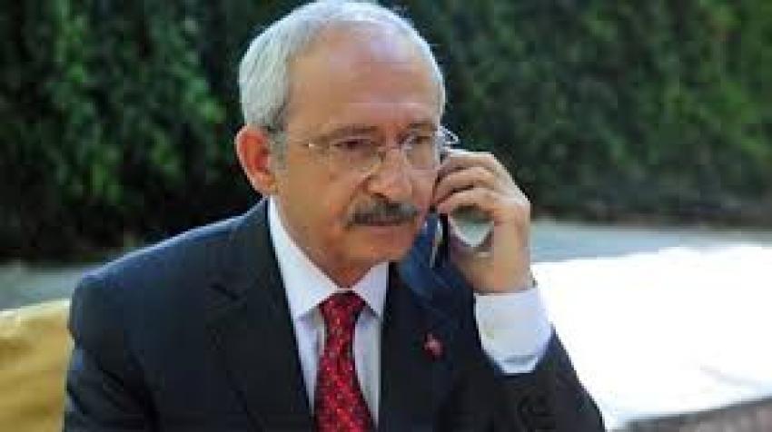 CHP Genel Başkanı Kılıçdaroğlu'ndan şehit yakınlarına taziye telefonu
