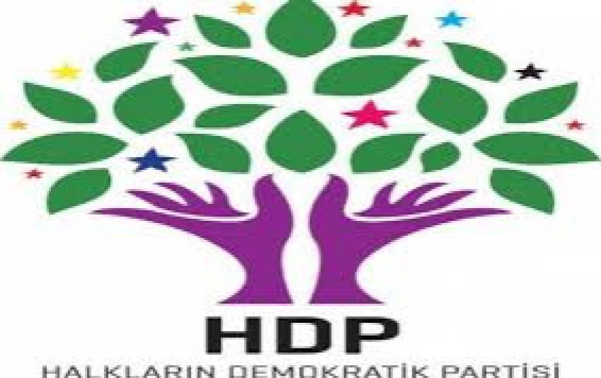 HDP'den saldırı için flaş açıklama