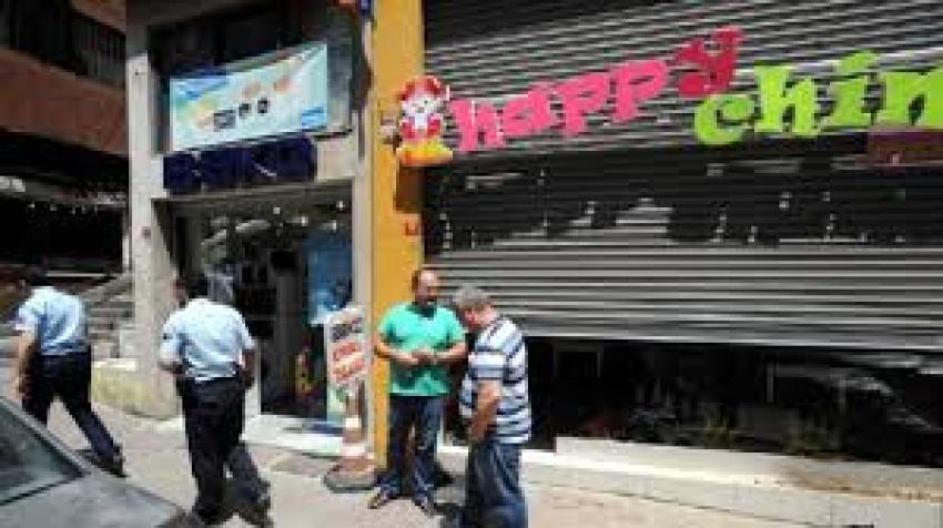 Tophane'de Çin lokantasına taşlı-sopalı saldırı