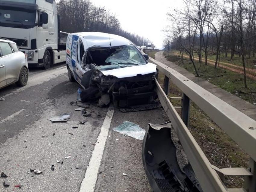 İnegöl'de yaralanmalı kaza