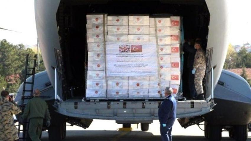 İngiliz hükümeti, Türkiye'den alınan 400 bin ekipmanı iade ediyor