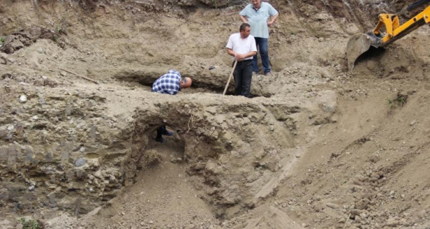 İnşaat kazısı sırasında bakın ne buldular?