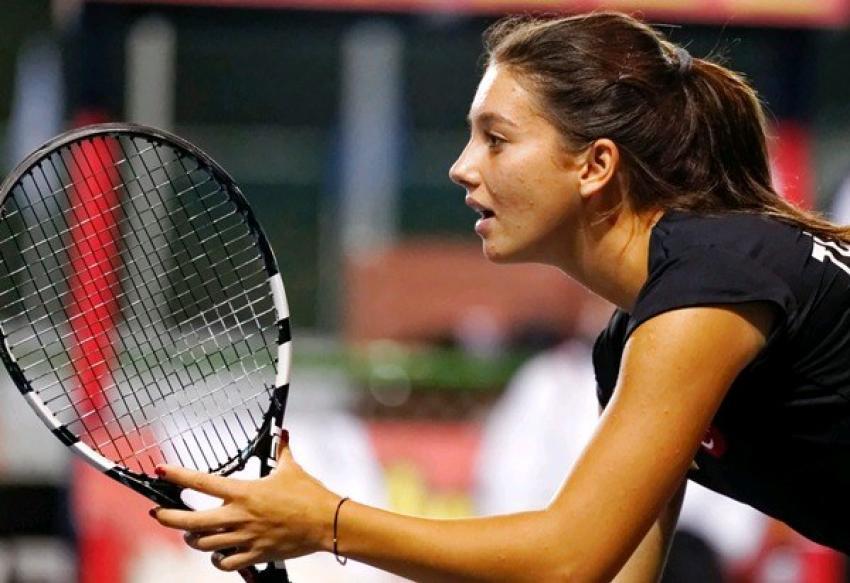 İpek Soylu Bursa Cup ITF Kadınlar Turnuvası'nda finalde