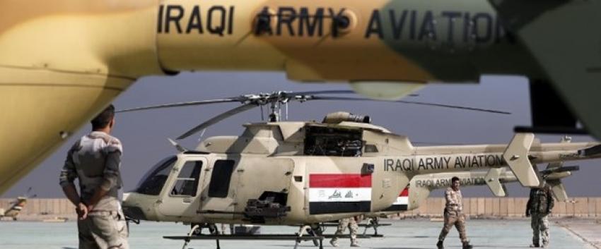 Irak hava bombardımanı başlattı