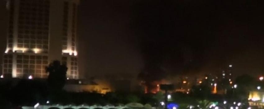 İki otelin otoparkında bombalı saldırı