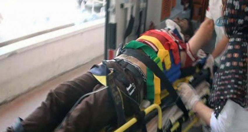 İşçi minibüsü kaza yaptı: Çok sayıda yaralı var
