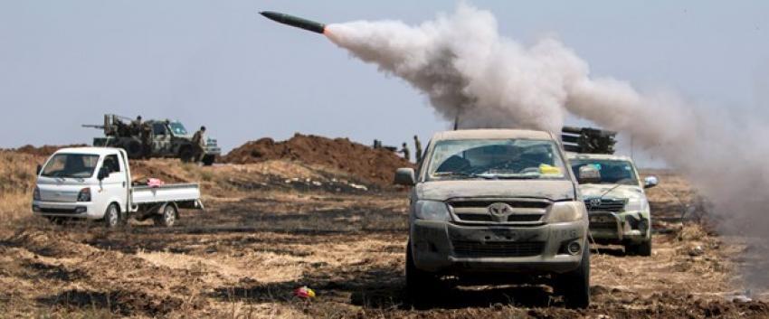 IŞİD Haseke'ye 3 koldan saldırdı