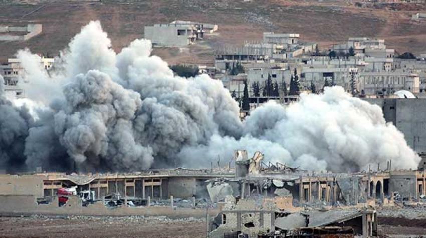 IŞİD militanı selfie çekince ABD bomba yağdırdı