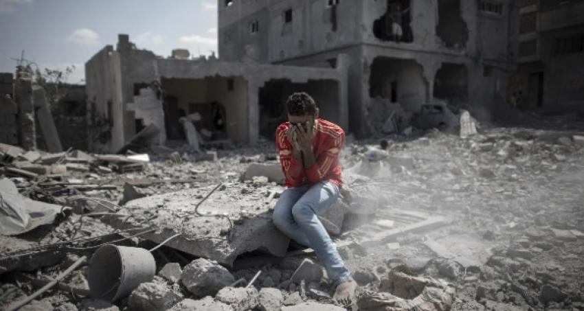İsrail yine rahat durmuyor! Gazze'ye hava saldırısı