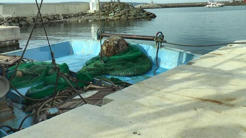 Balıkçıların ağına Osmanlı döneminden kalma mayın takıldı