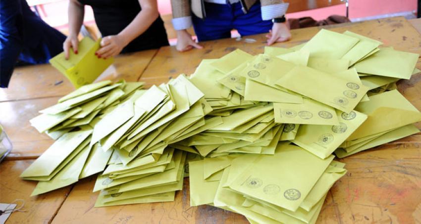 İtiraz üzerine 10 ilçede oylar yeniden sayılıyor