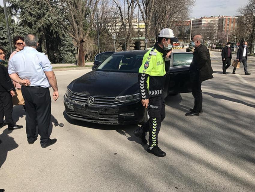 İYİ Partili Durmuş Yılmaz ve eşi kazada yaralandı