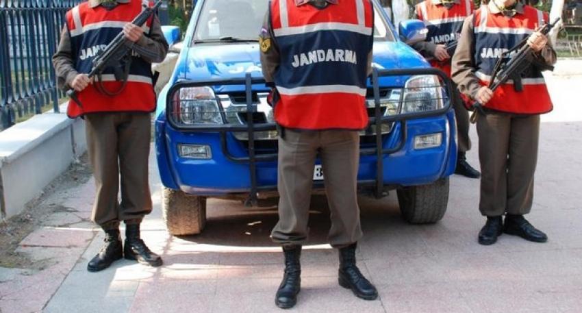Jandarma hırsızlık çetesini çökertti