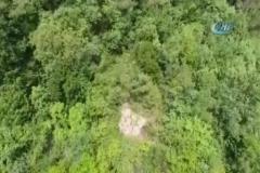 Jandarma'dan drone'lu uyuşturucu baskını