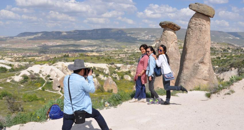 Japon turistler Kapadokya'yı terk etti
